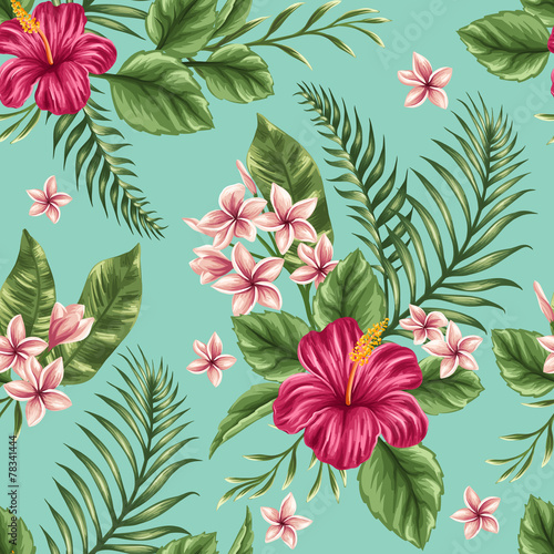 Floral seamless pattern - 78341444
