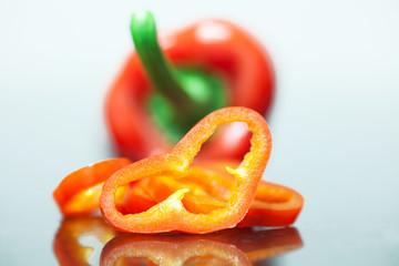 Sliced Chilli peaces