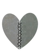 dikilmiş beton kalp tasarımı