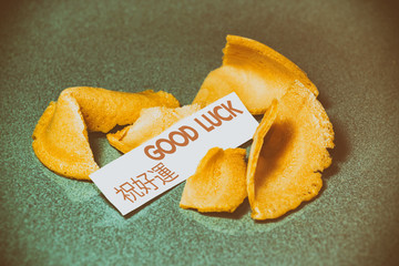 Fortune Cookie Good Luck