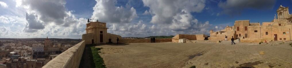 Citadelle à Victoria, Malte