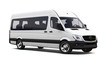 White minibus - 78345212