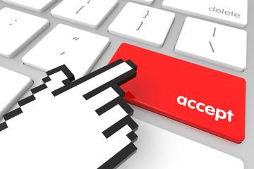 Accept Enter Key