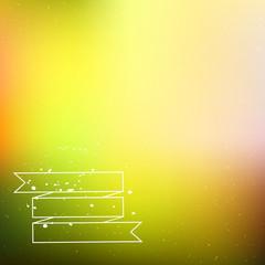 Bright blurred green background