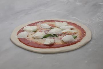 Preparazione Pizza Margherita