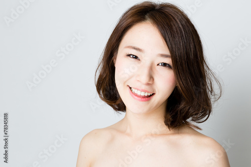 attractive asian woman beauty image