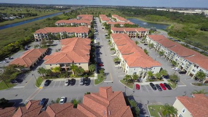 Aerial video housing community