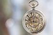 Close up on vintage pocket watch - 78347014