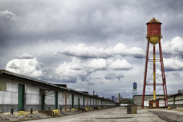 Water Towers in Warehouse District
