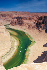 Partial View of Extraordinary Miraculous Horseshoe Bend