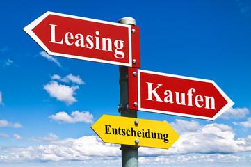 Leasing oder Kaufen