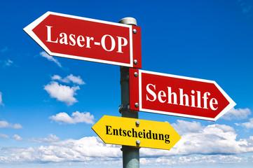 Laser-OP oder Sehhilfe