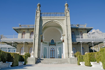 Vorontsov Palace in the Crimea
