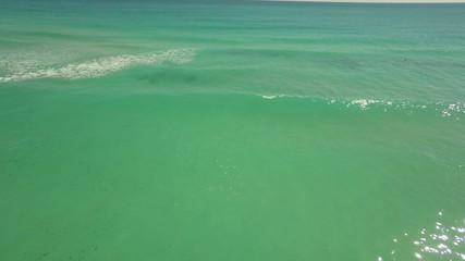 Tropical Ocean aerial video 4k