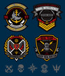 Navy military patch set - 78350099