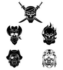 Tattoo Symbol Of Skull Collection