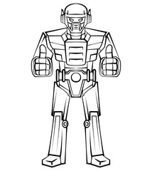 Robot Thumb Up