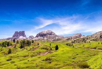 Stunning peaks of Dolomites, Italy