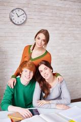 Three groupmates