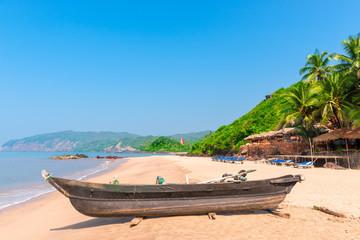 Cola Beach in South Goa, very beautiful beach