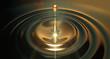 canvas print picture - Oil Droplet
