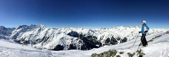 Skifahren - Panorama