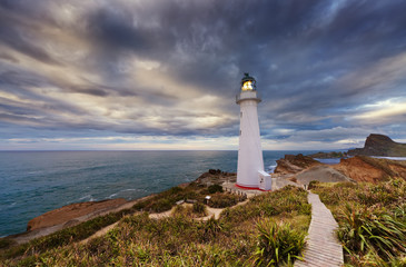 Castle Point Lighthouse, New Zealand