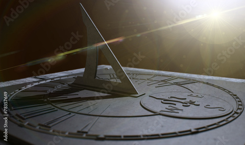 Sundial Lost In Time - 78357649