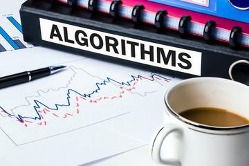 algorithms on business document folder