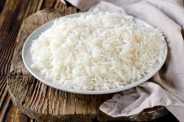 Boiled Basmati rice
