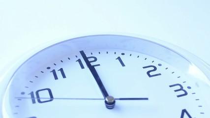 Clock Strikes Noon