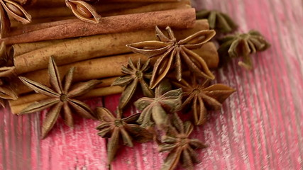 anise and cinnamon