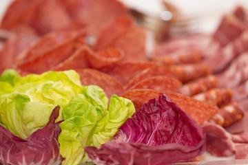 Coloured salad