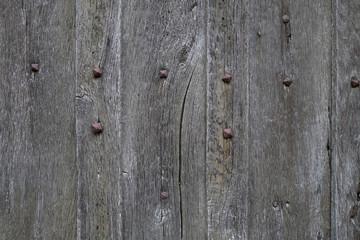 Porte ancienne en bois et clous de fer / #3