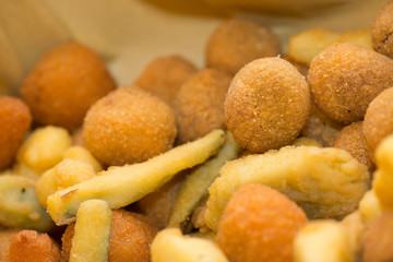 Frittura mista, mixed fried food