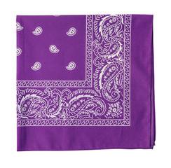 purple  bandanna