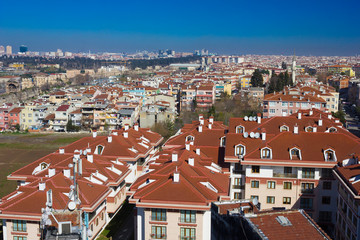 Istanbul city view - Turkey travel architecture background