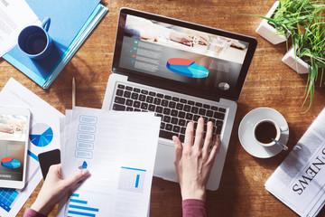 Financial report online