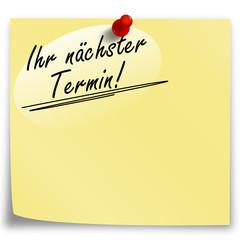 Post-It Termin!