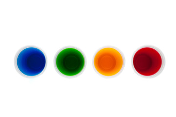 Rainbow water concept