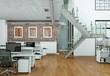 modernes Büro im Loft - 78364022