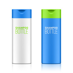 Shampoo bottle template for your design