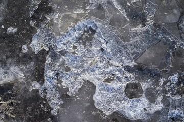 tekstura złamanym lodzie