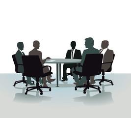 Gespräch am Rundentisch