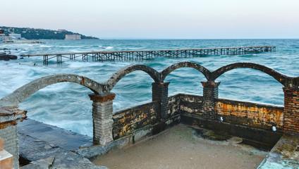 Sea coast (Bulgaria).