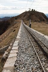 linea ferroviaria sul monte Generoso