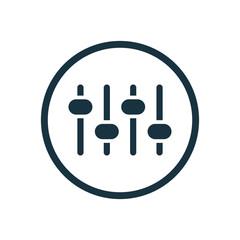 sound mixer icon