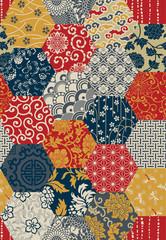 Oriental style seamless vector pattern
