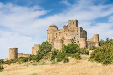 Loarre castle, Huesca (Spain)