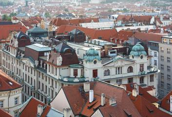 Prague (Czech Republic) evening view.